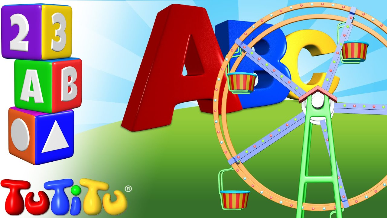TuTiTu Preschool | ABC Song | ABC Ferris Wheel | Learning the ...