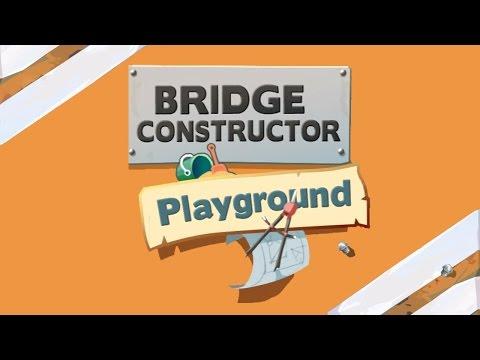 Bridge Constructor Playground EP.1 - The Tutoria ! |