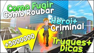 TRICKS, TIPS, HOW TO PLAY and ALL PLACE TO STEAL in the MAD CITY of ROBLOX 😍