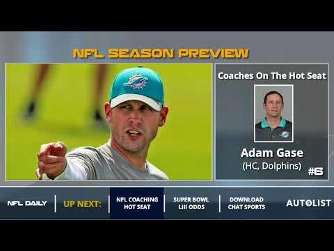 NFL Head Coaching Hot Seat Entering 2018 Season