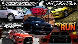 Mitsubishi Lancer Evolution in NFS Games - 1080pHD