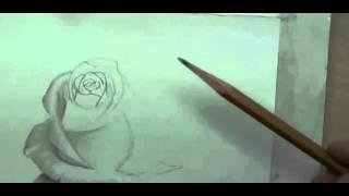 Рисуем розу карандашом | Crash ROSE #7(Рисование, как рисовать, рисовать карандашом, научиться рисовать, уроки рисования, как научиться рисовать,..., 2015-10-04T17:04:48.000Z)