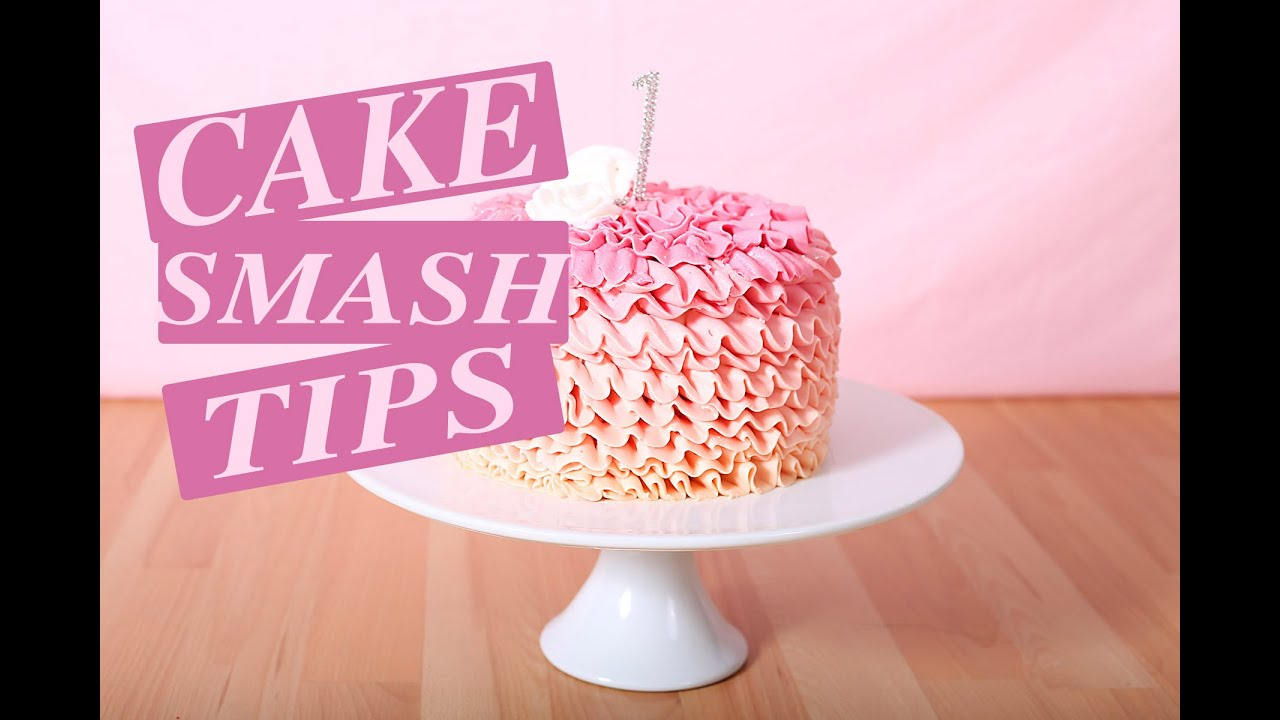 CAKE SMASH TIPS YouTube