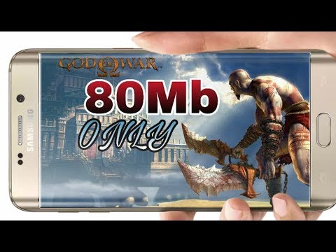 80Mb || God Of War Game || High Graphics || With Gameplay