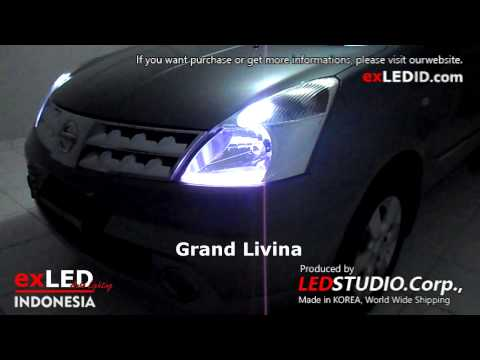 Nissan Grand Livina exLED Silicon Bar, 2 Way