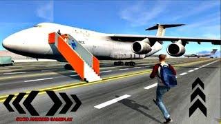 Indian Airplane Traveller #2 - MUMBAI Airplane Flight Android GamePlay FHD