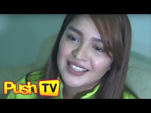 """Push TV: Jane Oineza on relationship with Kyle Secades: """"I'm very happy  right now"""""""