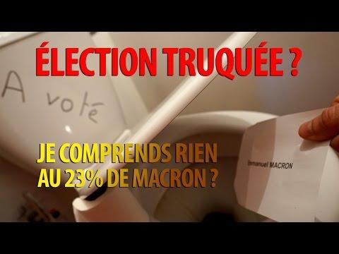 Élection présidentielle Truquée?… 23% pour Macron