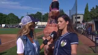 Jurassic Park takes over the Pickles baseball game