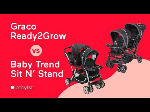 Affordable Double Stroller Comparison: Graco Ready2Grow vs. Baby Trend Sit N' Stand - Babylist