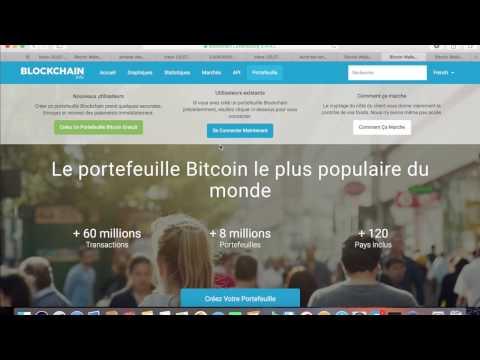 Comment acheter des bitcoin avec blockchain ?
