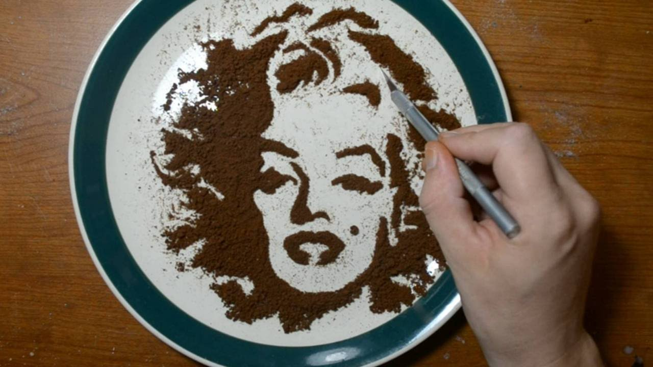 Coffee Grounds In Cake