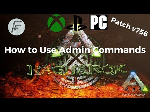 ARK: Survival Evolved How to use Admin Commands after update v756