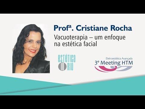 "Palestra: ""Vacuoterapia – um enfoque na estética facial"" – Profª Cristiane Rocha"