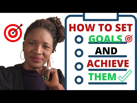 THE SCIENCE BEHIND GOAL SETTING & ACHIEVING THE.