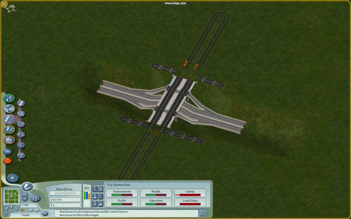 Building Highways Simcity