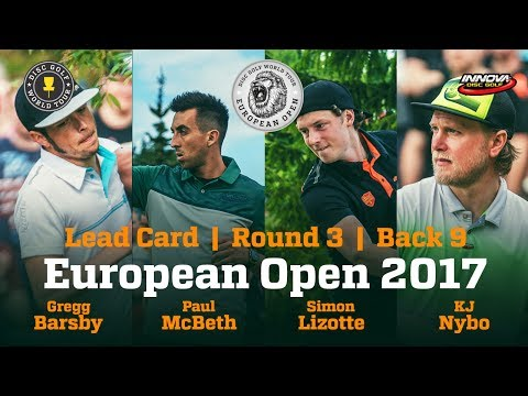 European Open 2017 Lead Card Round 3 Back 9