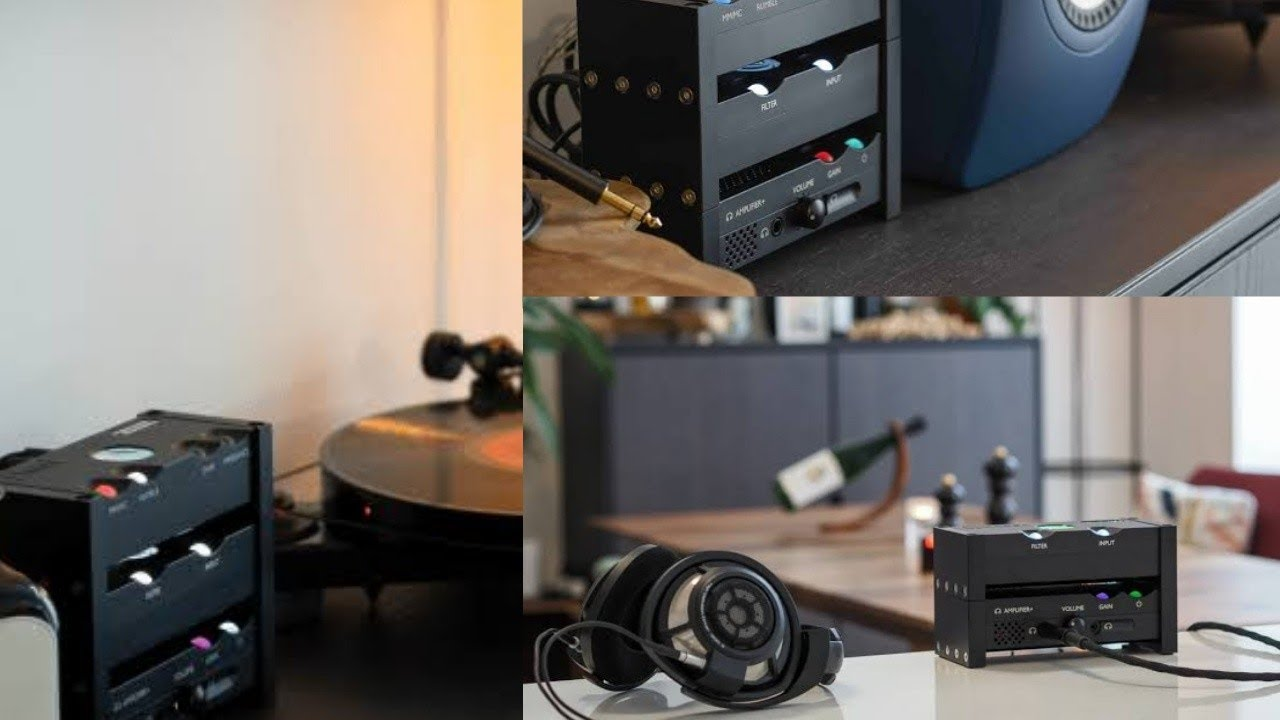 Chord Anni desktop amplifier Debuts for both headphones and speakers priced at £1195