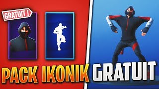 HAVE THE DANCE SCENARIO AND THE IKONIK SKIN FOR FREE on Fortnite!!