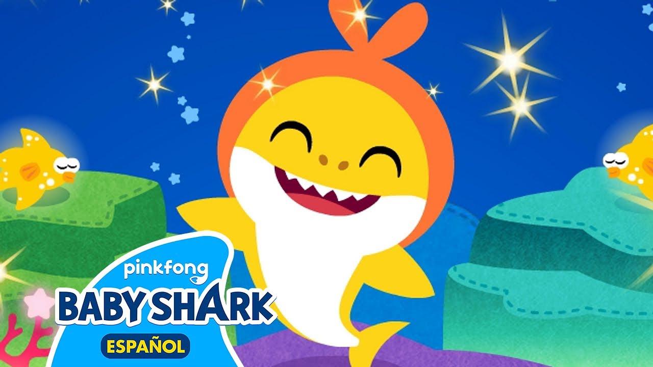 Buenas Noches Tiburón Bebé   Canciones Infantiles   Baby Shark en español