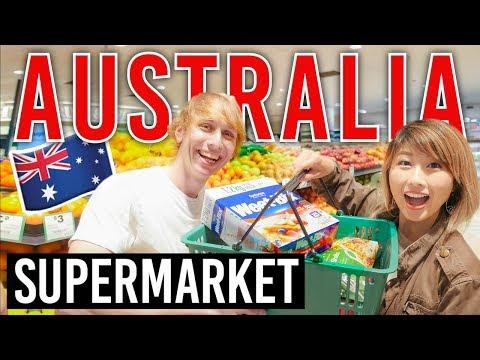 オーストラリアのスーパーで買い物☆ Australian Supermarket!〔#659〕