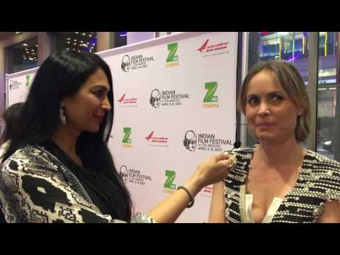 IFFLA 2017: Red carpet  with Actor Radha Mitchell