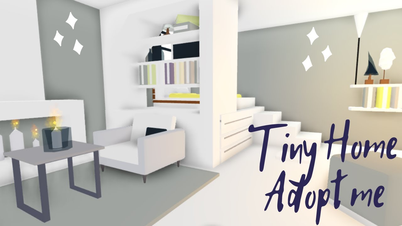 Tiny House Adopt Me Speed Build House Tour In 2020 Home Roblox Tiny House Design Simple Bedroom Design