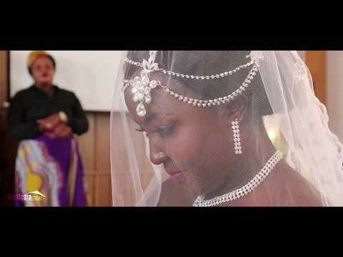 Emile Paul and Elvie Nyelele Unforgetable wedding, Congolese weiding