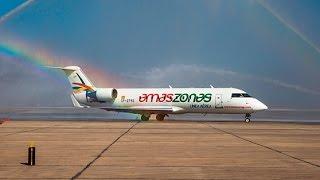 Amaszonas la nueva aerolínea que conectará el norte