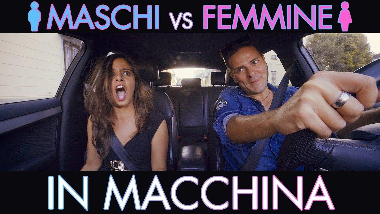 MASCHI VS FEMMINE IN MACCHINA 🚦 - Parodia - iPantellas