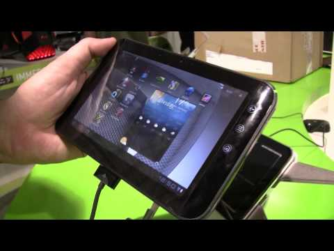 Dell Streak 7 with Android 3.2 Honeycomb Hands On at IFA 2011
