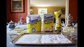 Compare | Granulated vs. Superfine Sugar