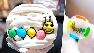 Изготовление удивительных конфет ручной работы - PAPABUBBLE - Потрясающее шоу конфет - Как сделать