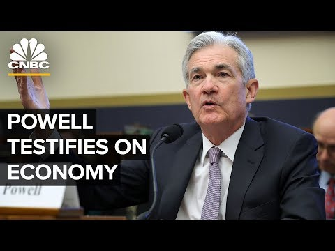 Fed Chair Jerome Powell's House testimony on the state of the economy – 07/10/2019