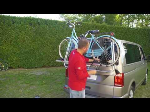 Carry Bike Vw T6 Fiamma Youtube