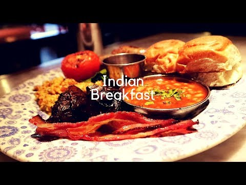 Indian Breakfast at Dishoom on Carnaby Street Soho London