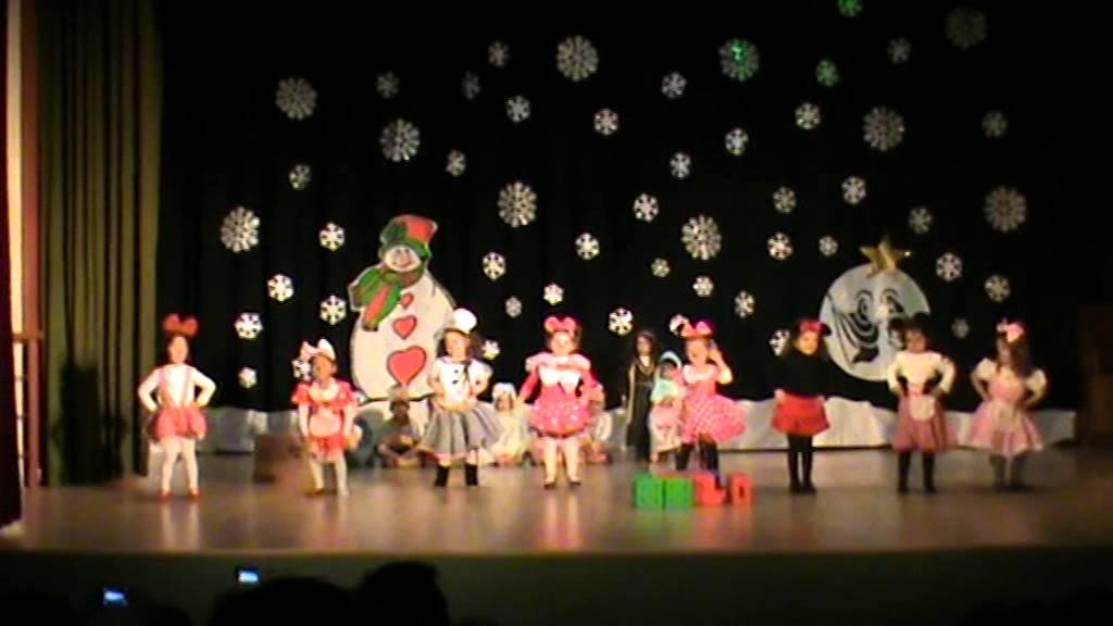 Festival de navidad 2014 1 b ed infantil youtube - Decoracion navidad infantil ...