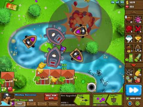 Bloons Monkey City - Fighting The Current