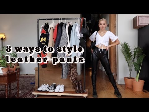 how-to-style:-leather-pants