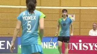 2016ランキングサーキット 女子シングルス 準々決勝 漆﨑 真子(山陰合...
