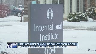 Refugees increasing Erie County populations
