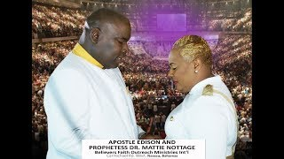 PROPHETIC LIGHT OF FIRE & POWER-BREAKING UP DARKNESS||APOSTLE EDISON & PROPHETESS MATTIE NOTTAGE