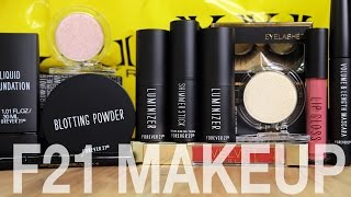 FOREVER 21 MAKEUP DISASTER | First Impressions