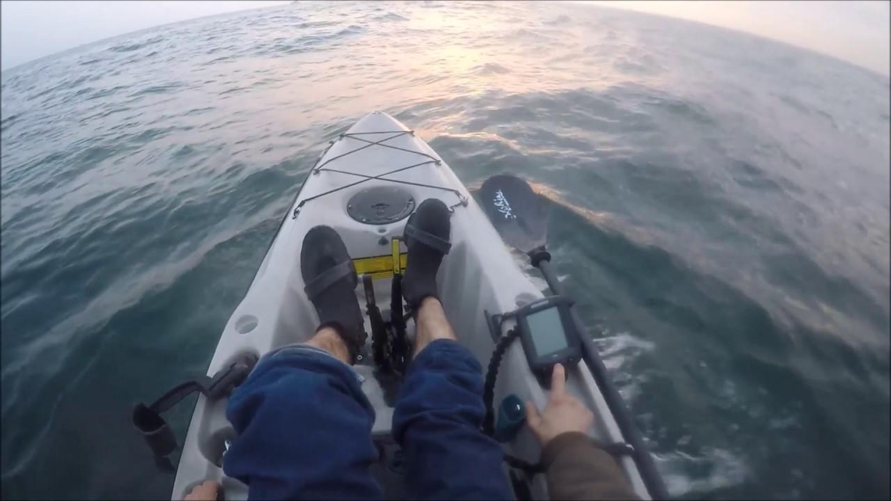 Thanksgiving morning kayak striper fishing out belmar nj for Belmar nj fishing report