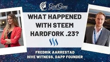 Millions of Steem Taken and then Returned? Interview with Hive Witness Fredrik Aarrestad