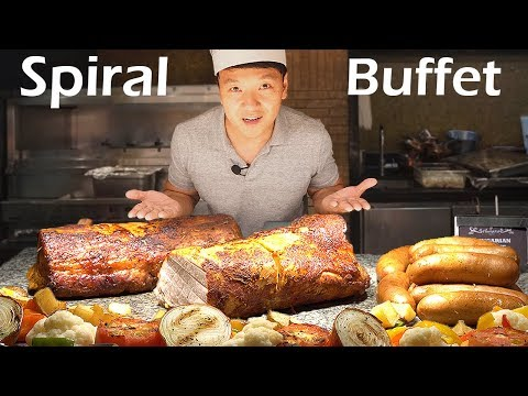 LEGENDARY All You Can Eat Buffet in Manila Philippines - Spiral Buffet Review