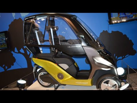 torrot 39 s velocipedo an all weather electric scooter. Black Bedroom Furniture Sets. Home Design Ideas