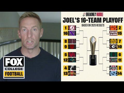 10, 14, or 16-team playoff? Klatt's ideas for expansion | Breaking the Huddle w/Joel Klatt | FOX CFB