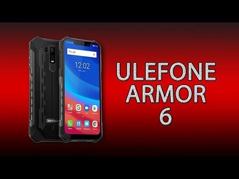 Ulefone Armor 6 - топовый защищённый смартфон 2019!