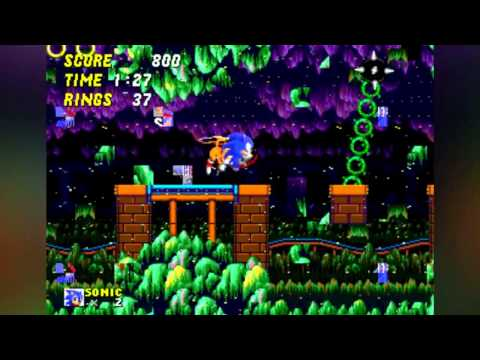 Glitching Sonic the Hedgehog 2